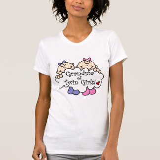 Grandma of Twin Girls Tshirts and Gifts