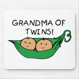 Grandma of Twins Pod Mouse Pad