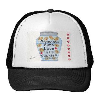 Grandma Puts Love In Her Cookies Hats