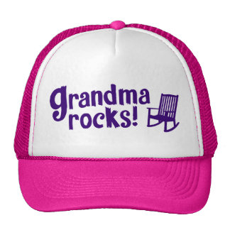 Grandma Rocks Cap