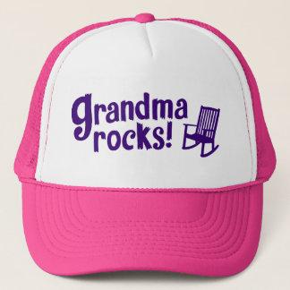 Grandma Rocks Trucker Hat