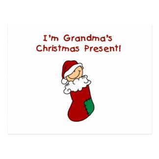 Grandma s Christmas Present Tshirts and Gifts Post Cards