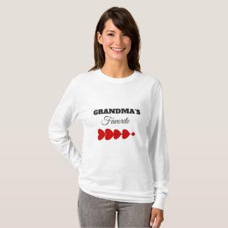 "GRANDMA""S FAVORITE GIFT TEE TSHIRT"