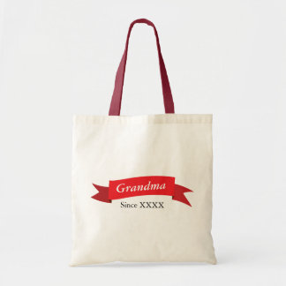 Grandma Since XXXX Tote Bag