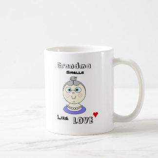 Grandma Smells Like Love Mug