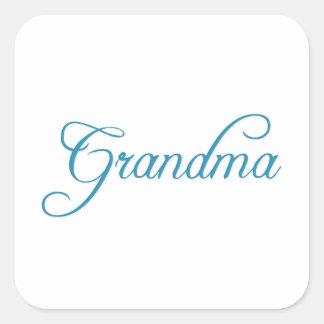 Grandma Square Sticker