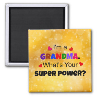 Grandma Super Power Magnet