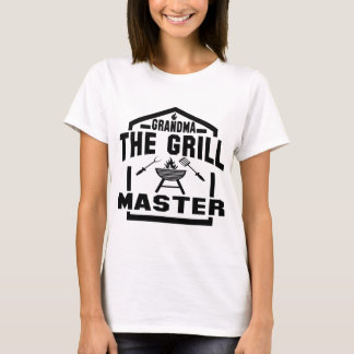GRANDMA THE GRILL MASTER T-Shirt