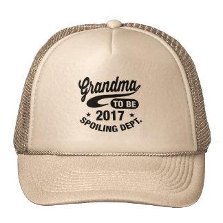Grandma To Be 2017 Cap