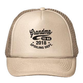Grandma To Be 2018 Cap