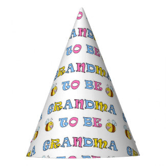Grandma to Be Party Hat