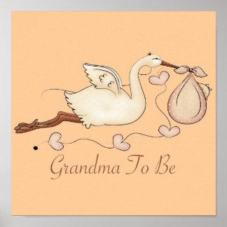 Grandma To Be Poster