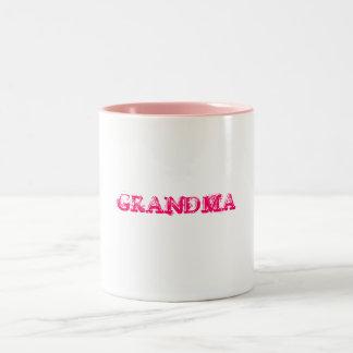 GRANDMA Two-Tone COFFEE MUG