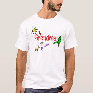 Grandma with Crayons T-Shirt