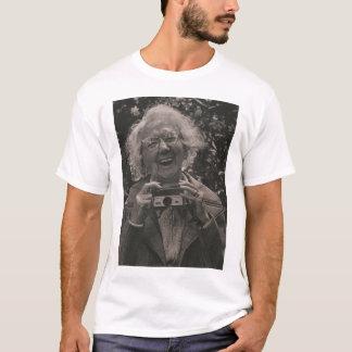 Grandma with her Hawkeye T-Shirt
