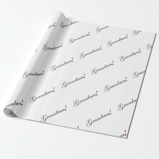 Grandma Wrapping Paper