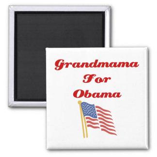 Grandmama for Obama Magnet