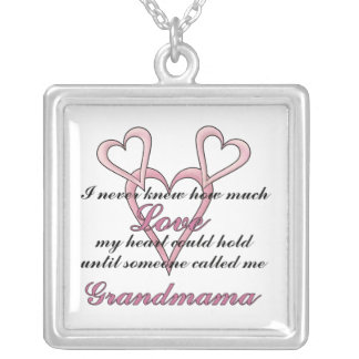 Grandmama (I Never Knew) Mother's Day Necklace