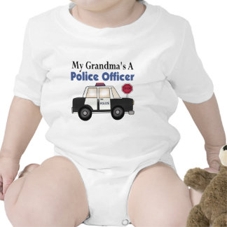 Grandma's A Police Officer Rompers
