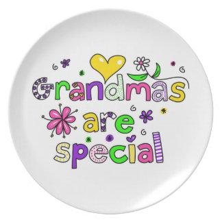 Grandmas Are Special Plate