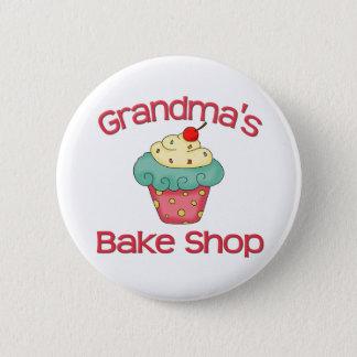Grandma's bake shop 6 cm round badge