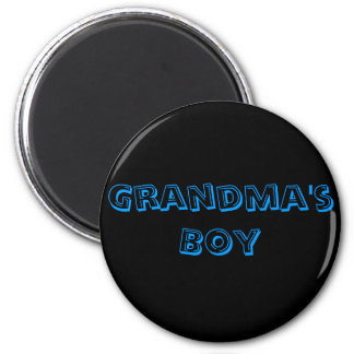 Grandma's Boy 6 Cm Round Magnet