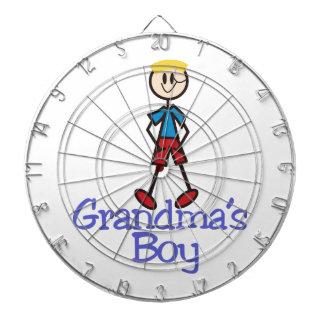Grandmas Boy Dartboard With Darts