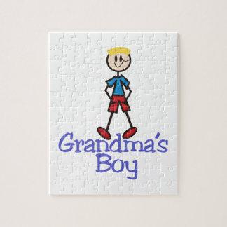 Grandmas Boy Jigsaw Puzzle