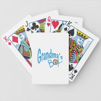 Grandmas Boy Poker Cards