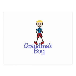 Grandmas Boy Postcard