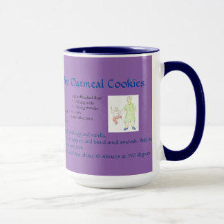 Grandma's Chocolate Chip Raisin Oatmeal Cookie Mug