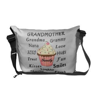 Grandma's Cupcakes For Grandmothers Courier Bag