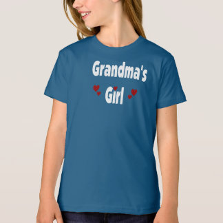 Grandma's Girl (Hearts) Tees