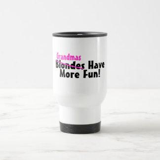 Grandmas Have More Fun Coffee Mugs