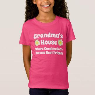 """Grandma's House. Where Cousins Go To..."" T-Shirt"