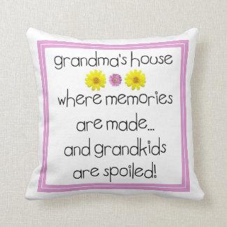 Grandma's House - Where Memories Are Made Cushion