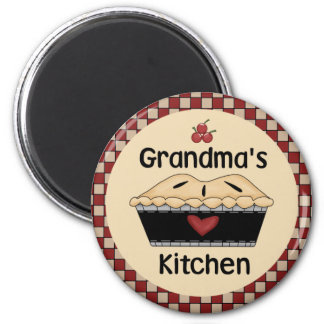 Grandma's Kitchen Fridge Magnet