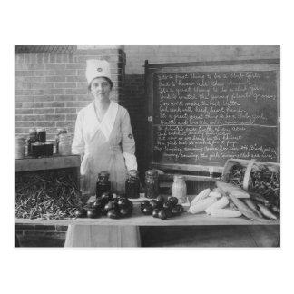 Grandma's Kitchen - Vintage Postcard