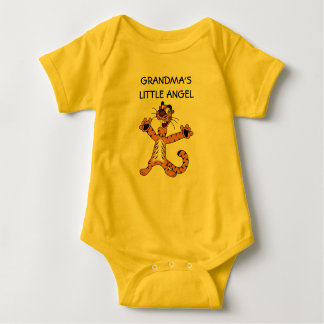 Grandma's little angel baby bodysuit