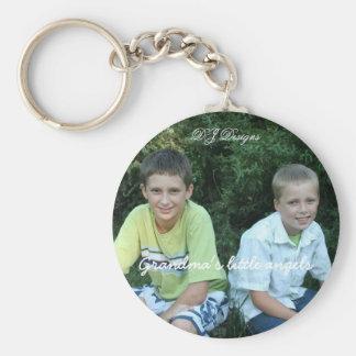 Grandma's little angels, DJ Designs Key Ring