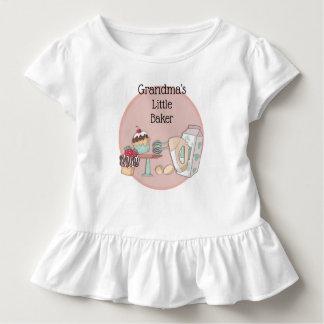 Grandma's Little Baker Toddler T Shirt