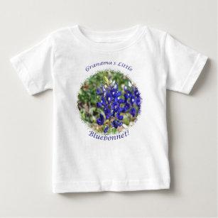 Grandma's Little Bluebonnet Baby Shirt