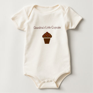 """""""Grandma's Little Cupcake"""" - adorable baby outfit Romper"""