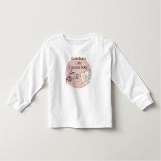 Grandma's Little Cupcake Baker Toddler T Shirt