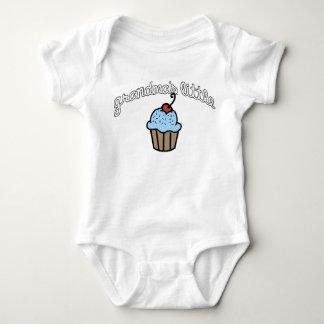Grandma's Little Cupcake - Blue Infant Creeper