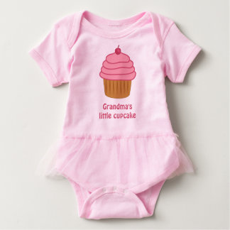 Grandma's Little Cupcake Bodysuit