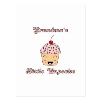 Grandma's Little Cupcake Postcard