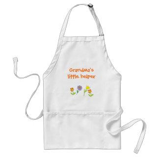 Grandma's little helper standard apron