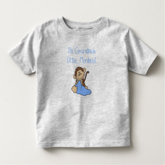 Grandma's Little Monkey Toddler T-Shirt