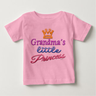 Grandma's Little Princess Baby Toddler T-Shirt